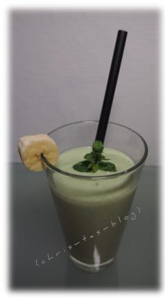 grüner Smoothie - gesund