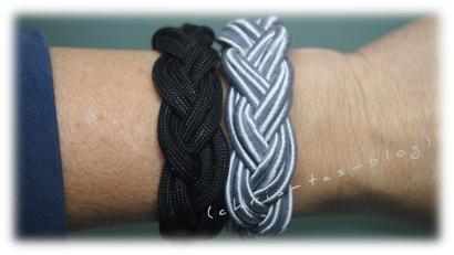 Meine neuen Armbänder mit Zubehör von smyks.de
