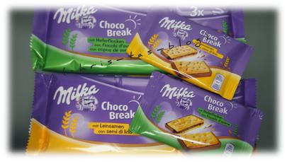 Milka Choco Break - neue Sorten