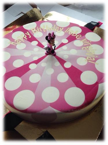 Minni Maus Geburtstagstorte