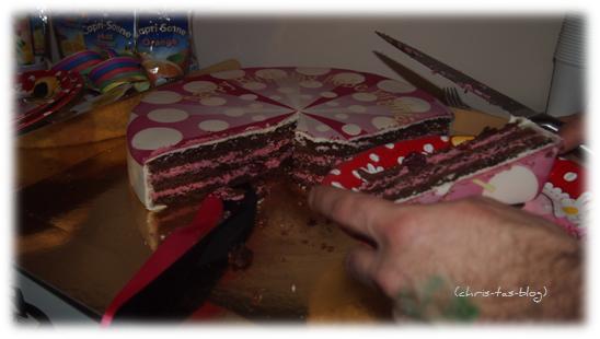 Minni Maus Torte Schokolade-Kirsch