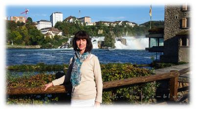 Mit Maggi am Rheinfall Schaffhausen