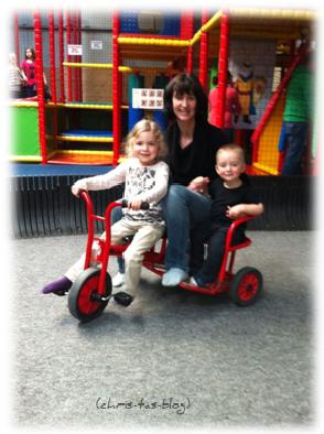 Mit meinen Enkelkindern im Krümelland