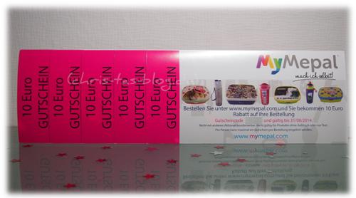 MyMepal - Gutscheine zu gewinnen