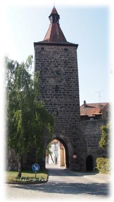 Nürnberger Tor in Neustadt a.d. Aisch