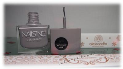 Nailsinc Gel Effect Lack und Alessandro Nagelfeile