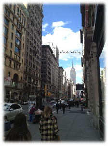 Sightseeing in New York - Times Square
