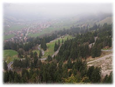 Jochpass - von Bad Hindelang zum Oberjoch
