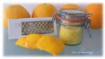 Orangenzucker für Süßspeisen, Cocktails uvm.