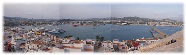 Panorama Ibiza Hafen