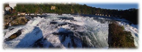 Panoramafoto Rheinfall