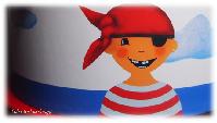 Pirat-Paul-Geschirrset