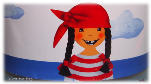 Piratin Paula Geschirrset