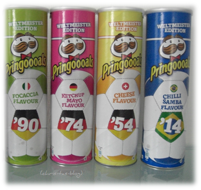 Pringles Weltmeister Edition