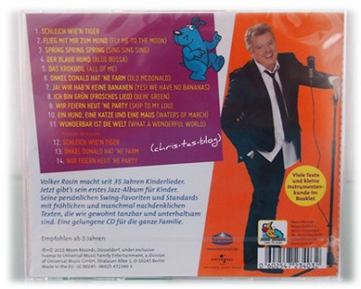 Rückseite CD Volker Rosin