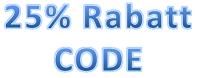 Rabattcode 25% auf alle Armbänder