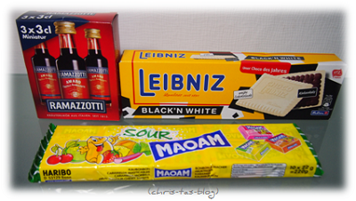 Ramazzotti, Leibnitz Black´n white und Maoam