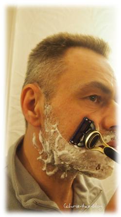 Rasur mit Gillette Fusion ProGlide