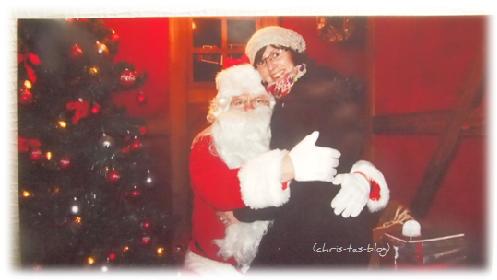 Rendezvouz mit dem Weihnachtsmann