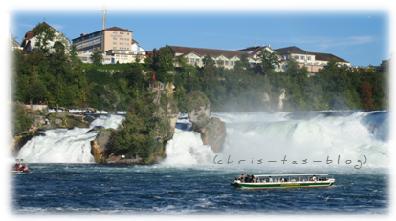Rheinfall Schaffhausen Schweiz