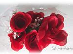Rote Rosen von meiner Enkeltochter