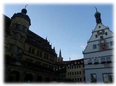 Rothenburg - Ziel unseres Frankenbloggertreffen