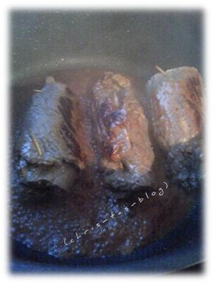 Rouladen schmoren im Guß-Kochtopf von Gastrolux