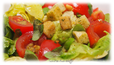 Salat - lecker mit Knorr