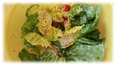 Salat mit GEFRO Salatdressing