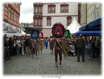 Samba Festival Umzug