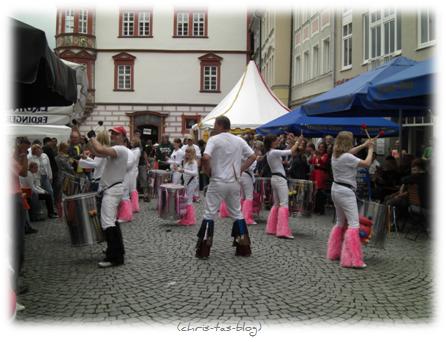 Samba Klänge beim Samba Festival