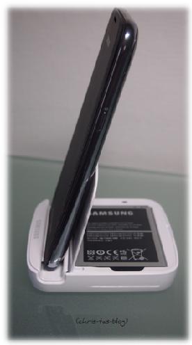 Samsung Halterung mit Ladegerät für Ersatz-Akku