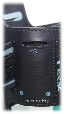 Schlüsseltasche in der Armtasche