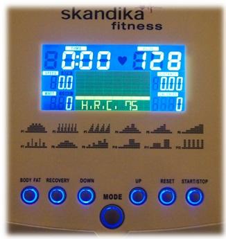 Skandika Crosstrainer - H.R.C-Programm