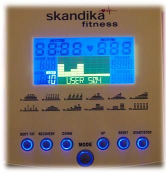 Skandika Crosstrainer - User-Programm