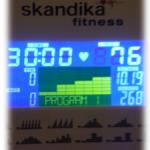 Skandika Crosstrainer - Woche 2
