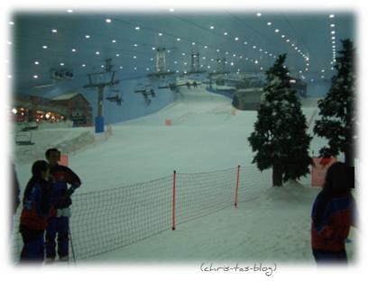 Skifahren in Dubai