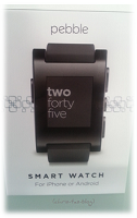 Smartwatch Pebble im Test