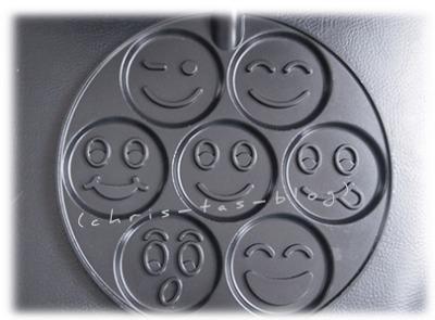 Smiley Pfannkuchenpfanne