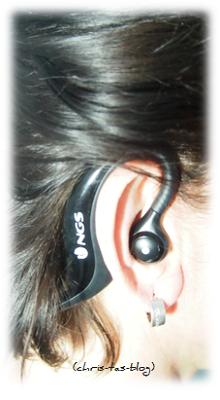 So sitzt der bluetooth Kopfhörer