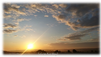 Sonnenaufgang Sommer 2015