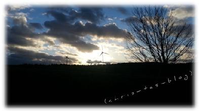 Sonnenuntergang über Neustadt Aisch