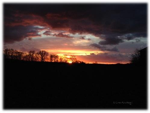 Sonnenuntergang 2014