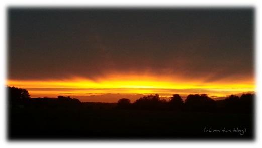Sonnenuntergang in NEA