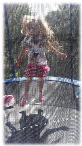 Spaß auf dem Trampolin