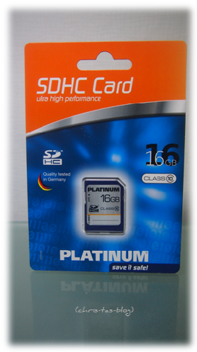 Speicherkarte SDHC Card 16 GB MeinPaket.de