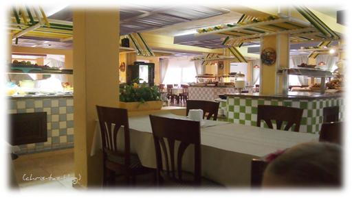 Speiseraum Club Cala Llenya Ibiza
