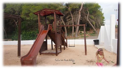 Spielplatz Ola Club Cala Llenya Ibiza