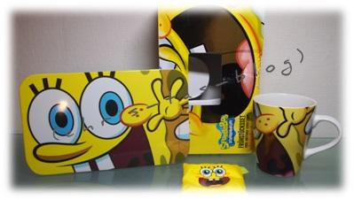 Spongebob Set für Kinder zu gewinnen