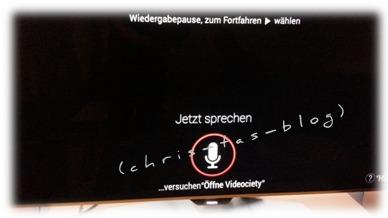 Sprachsteuerung HD TV Philips Android
